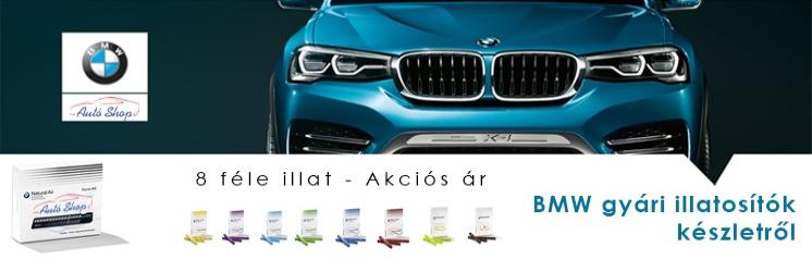 BMW natural air illatosítók készletről