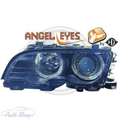 BMW E46 Coupé Első Fényszóró szett CCFL Angel Eyes