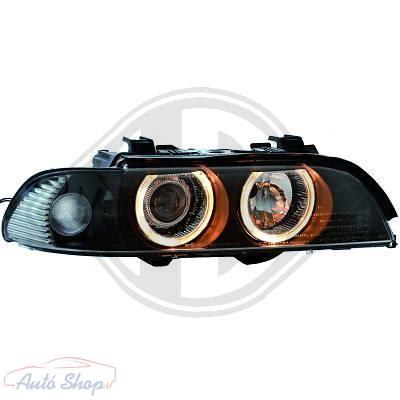 BMW E39  ELSŐ LÁMPA SZETT 00-03 Angel Eyes
