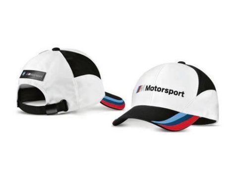 Gyári BMW Motorsport fehér- fekete baseball sapka 80162463073