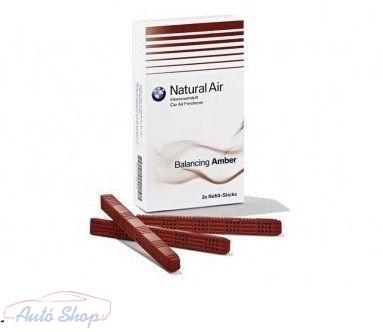 Eredeti BMW utántöltő Natural Air Car illatosító Kiegyensúlyozó Amber  illat