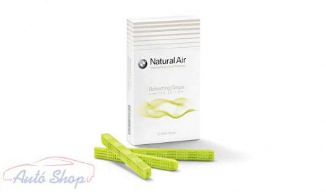 Eredeti BMW utántöltő Natural Air Car illatosító Refreshing Ginger illat