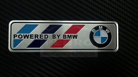 BMW  ALUMÍNIUM 3D EMBLÉMA