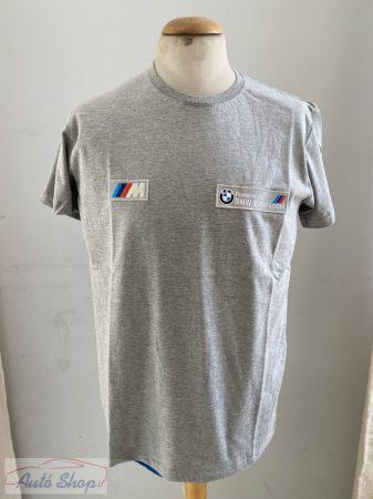 BMW póló szürke M-es