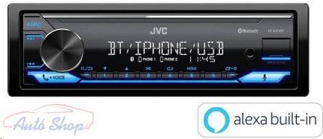 JVC KD-X372BT mechanika nélküli Bluetooth autórádió