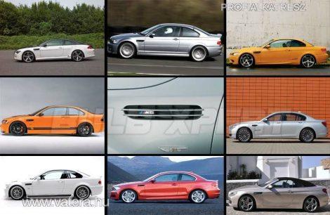 BMW M OLDAL M RÁCS E46,E39,E60,E61