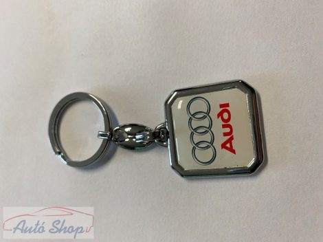 Audis kulcstartó