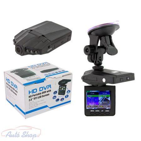 """HD DVR 2,5"""" LCD menetrögzítő kamera"""