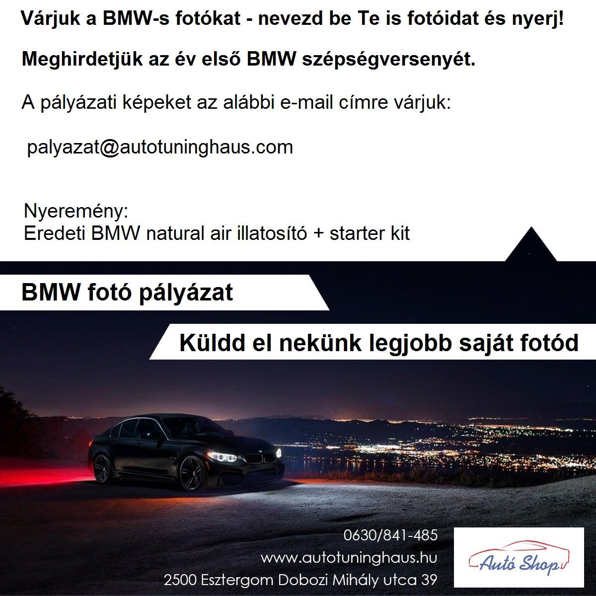 BMW fotó pályázat