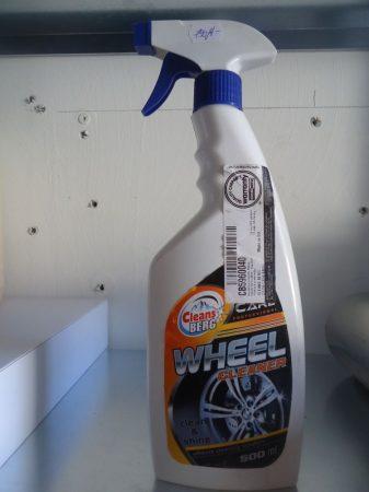 CLEANS BERG Műanyag- és gumiápoló 500ml