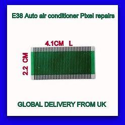 BMW AC kijelző pixel javító szalagkábel E38