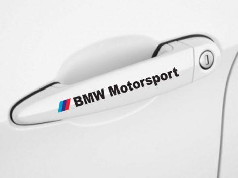 BMW M- MOTORSPORT MATRICA SZETT FEKETE SZINŰ