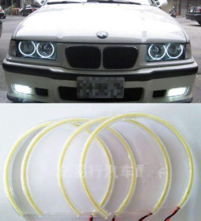 BMW ANGEL EYES  -- COB  --  LED 4 X 131MM