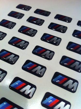 BMW gyári M-TECH FELNI,KORMÁNY EMBLÉMA , MATRICA