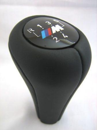 BMW Gyári BŐR  M-ES VÁLTÓGOMB E30 E36 E46 E28 E34 E39 E60 ,X5,X1,X3,E90,E61,E91,E92