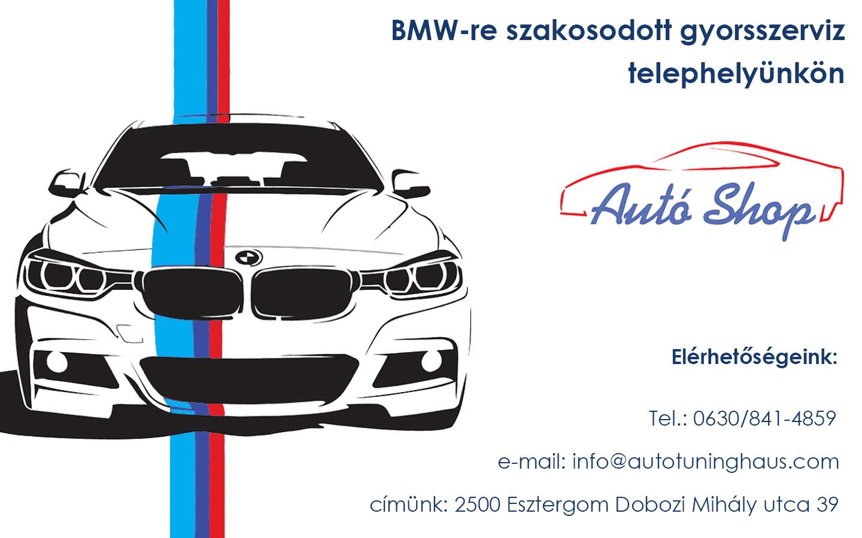 BMW gyorsszerviz Esztergom